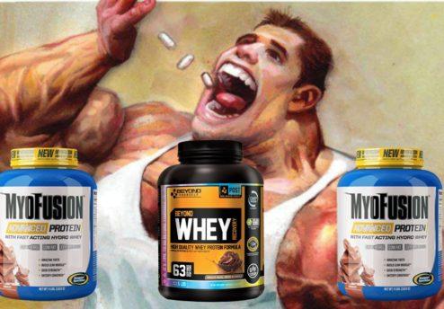 Революционный протеин для набора массы Ultimate Nutrition ISO Sensation